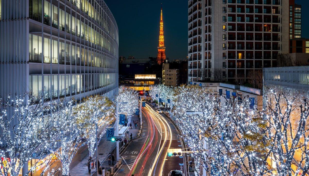 El invierno se llena de luces de colores en todo Japón