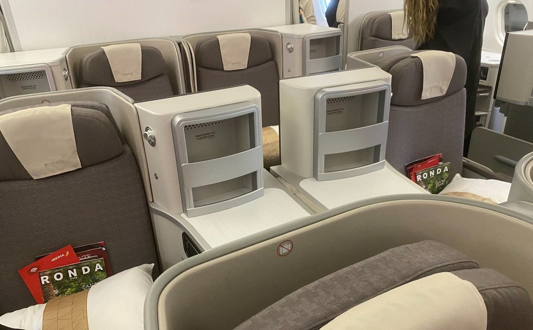 Iberia Madrid - Tokio Narita: Business Class A330 review