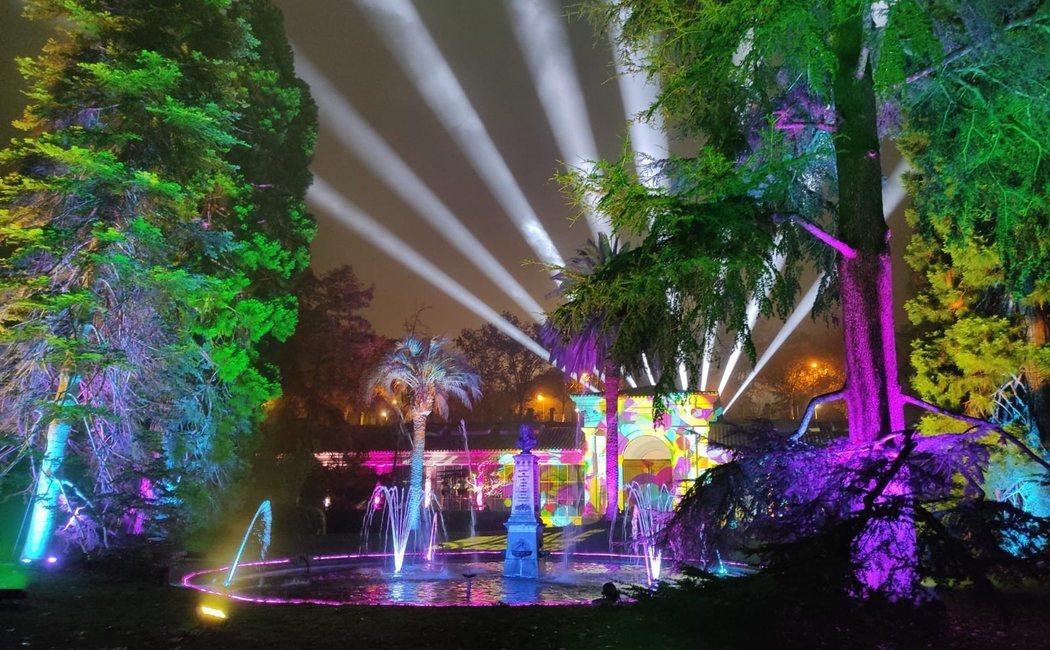 'Naturaleza encendida': un paseo a través de la magia de la Navidad en el Jardín Botánico de Madrid
