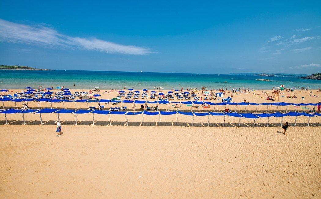 Las playas del Sardinero, el enclave urbano perfecto para disfrutar del mar en Santander
