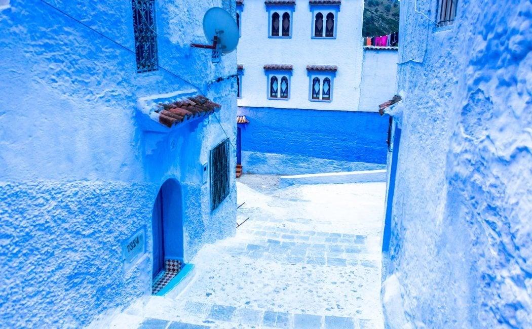 Un paseo por Chefchaouen, la ciudad azul de Marruecos