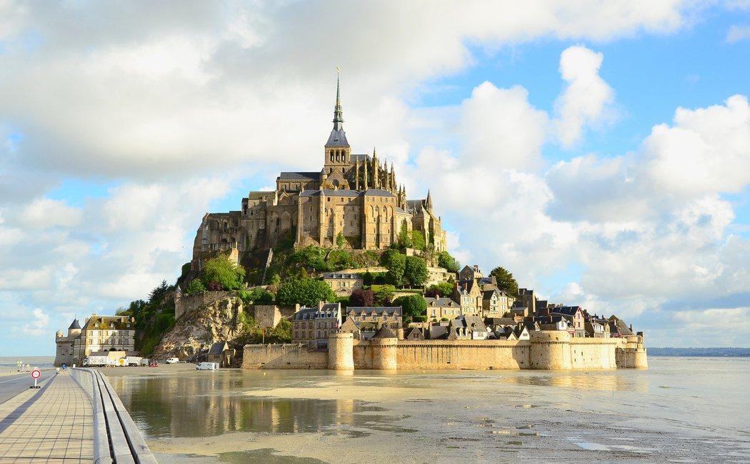 El Mont Saint-Michel, la joya medieval de Francia