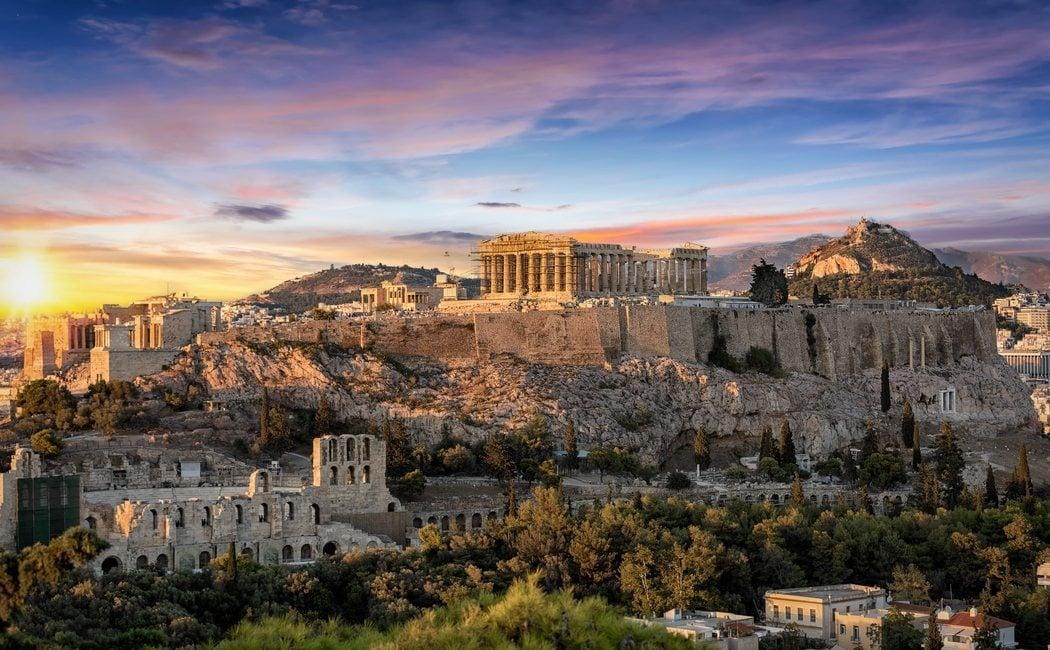 El tiempo en Atenas, ¿qué ropa llevar?