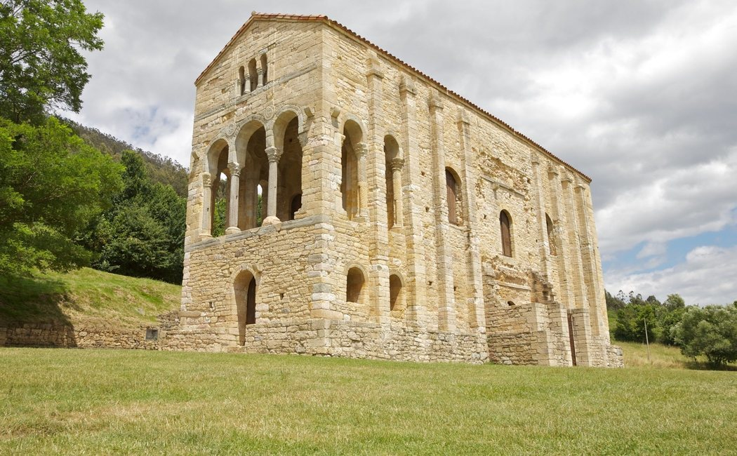 Los monumentos de Oviedo y del Reino de Asturias, arte prerrománico en el norte de España