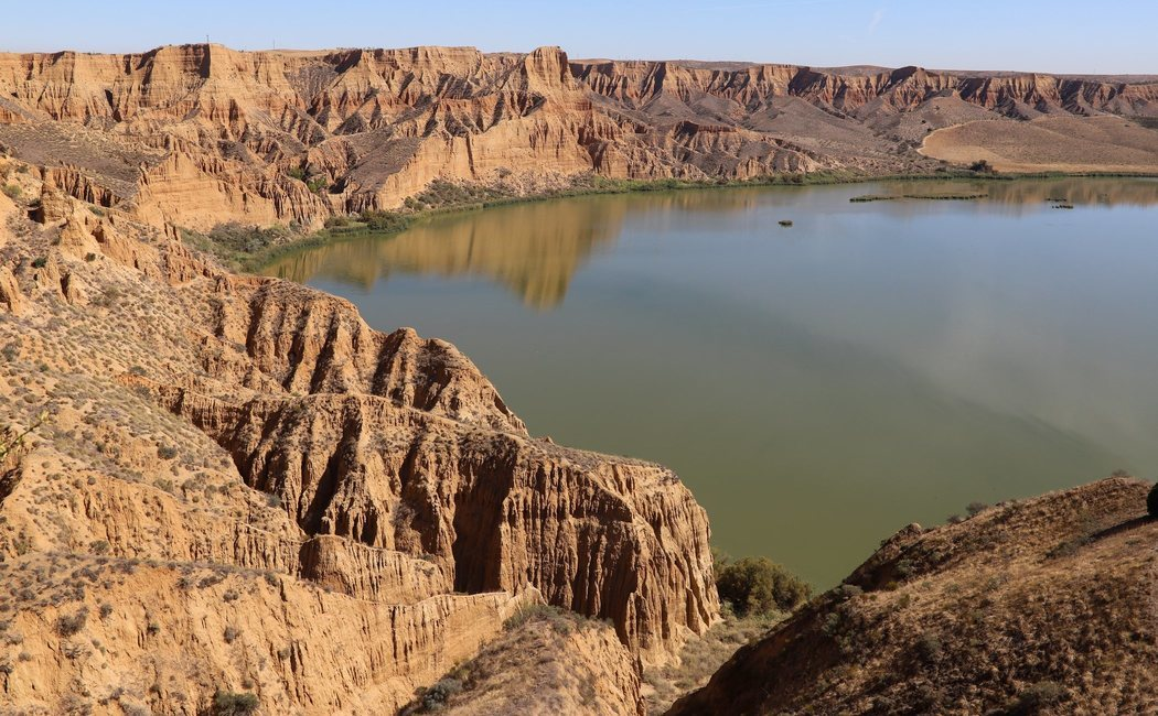 Las Barrancas de Burujón: El paisaje conocido como el 'Cañón del Colorado' toledano