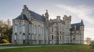 El Château d'Abbadie: descubre el impresionante castillo que corona la ciudad de Hendaya