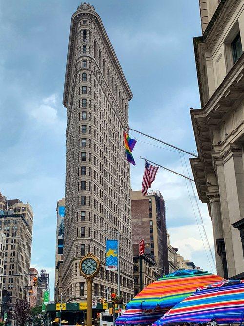 El edificio Flatiron de Nueva York