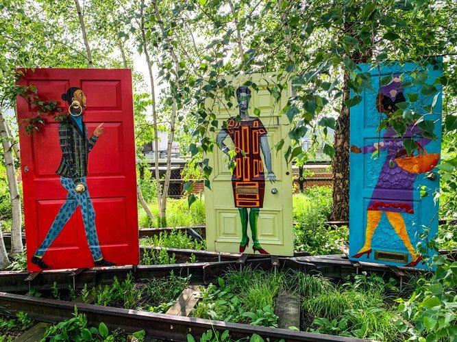 Arte en el parque High Line de Nueva York