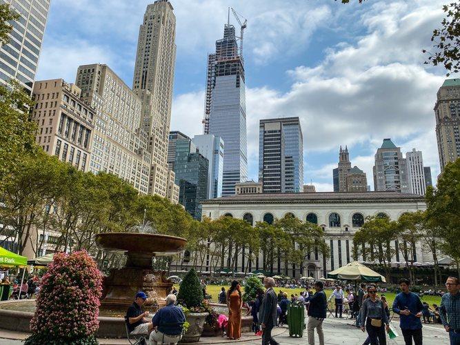 El Parque de Bryant, en pleno centro de Nueva York