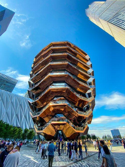 The Vessel en Hudson Yards, la nueva atracción turística de Nueva York en la nueva zona de moda de la ciudad