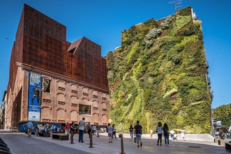 El edificio CaixaForum de Madrid.
