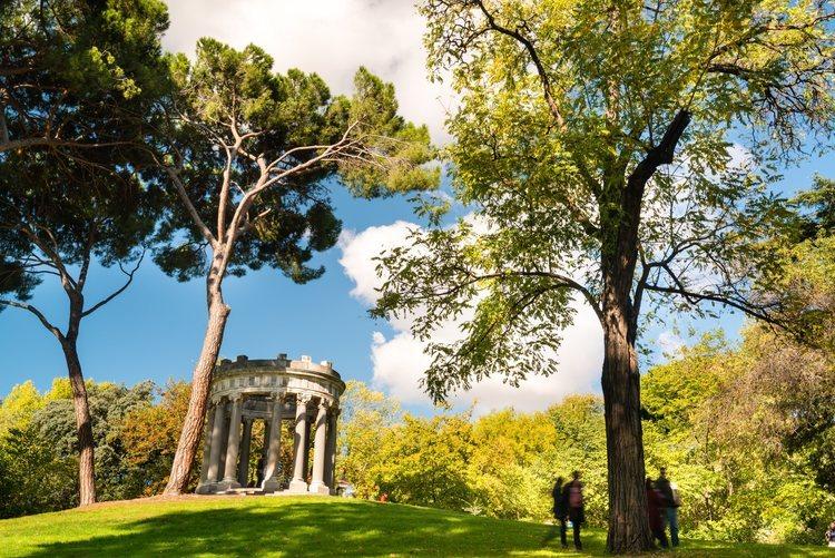 El parque de El Capricho de Madrid