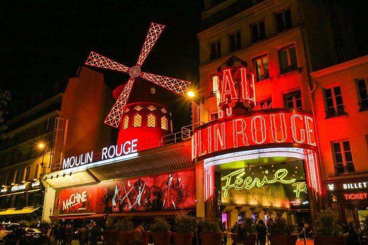 El cabaret Moulin Rouge de París