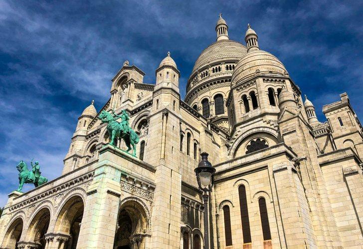 La basílica del Sacré-Coeur de Montmartre en París