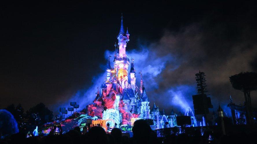 El castillo de Disneyland París