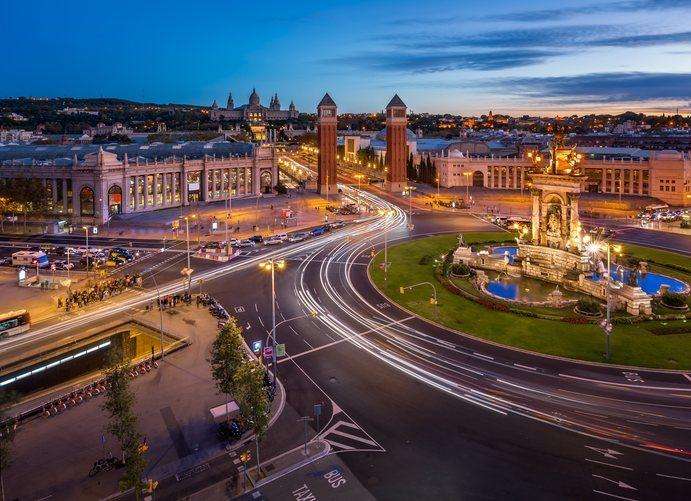 La Plaza de España de Barcelona