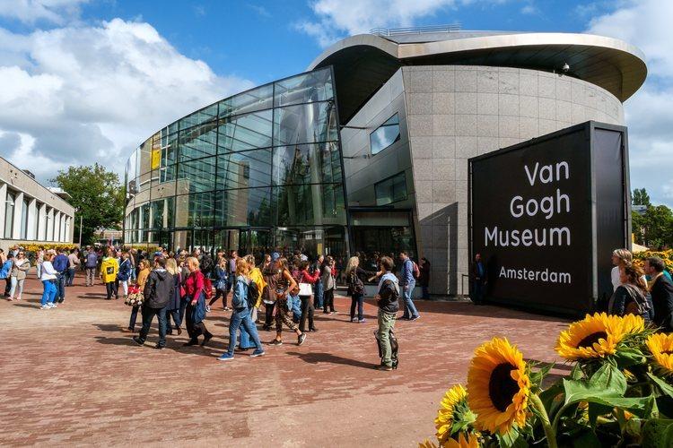 El museo Van Gogh de Amsterdam