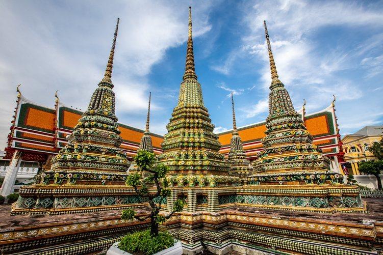 El templo de Wat Pho en Bangkok