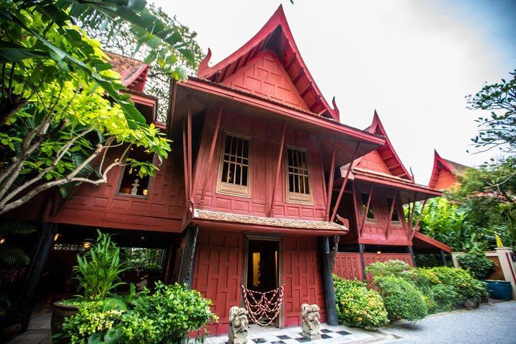 La casa de Jim Thompson en Bangkok