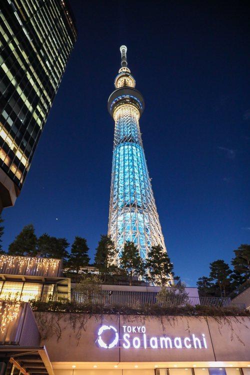 Centro comercial a las puertas de la Tokyo Skytree